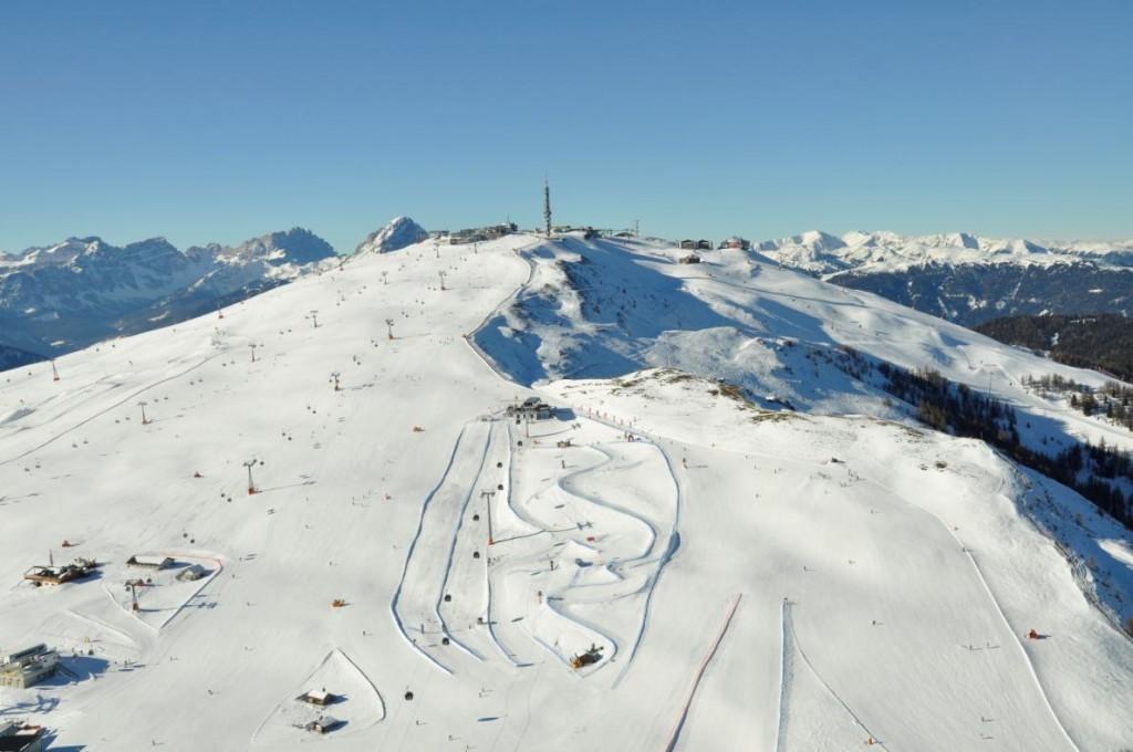 W - Ski mountain
